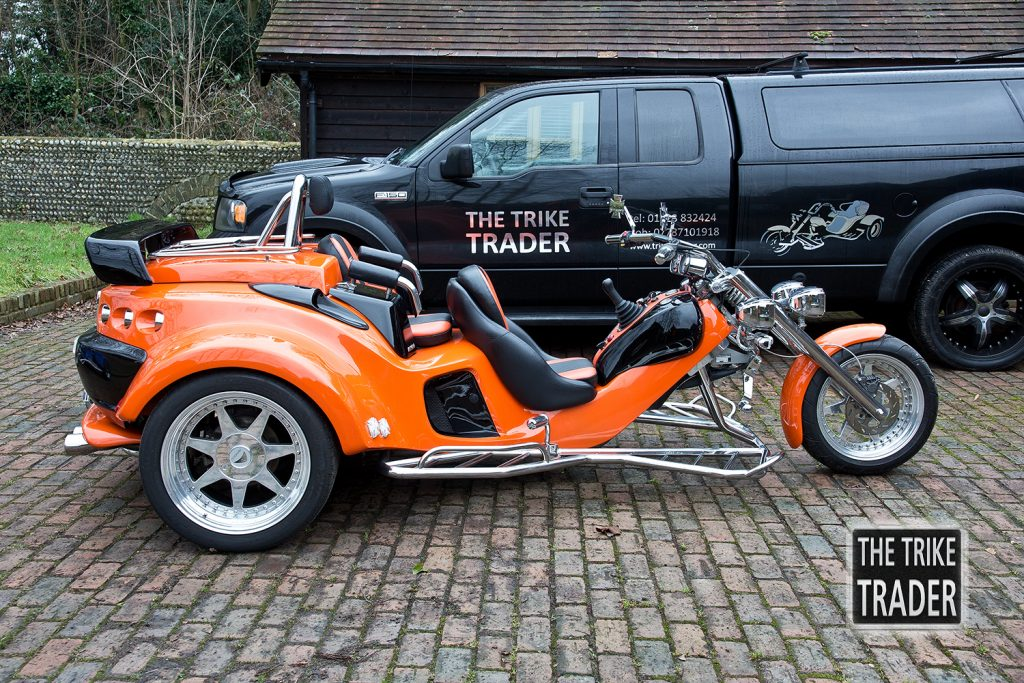 Rewaco RF 1 GT Trike 1.6L (115hp) water cooled Ford engine – The ...