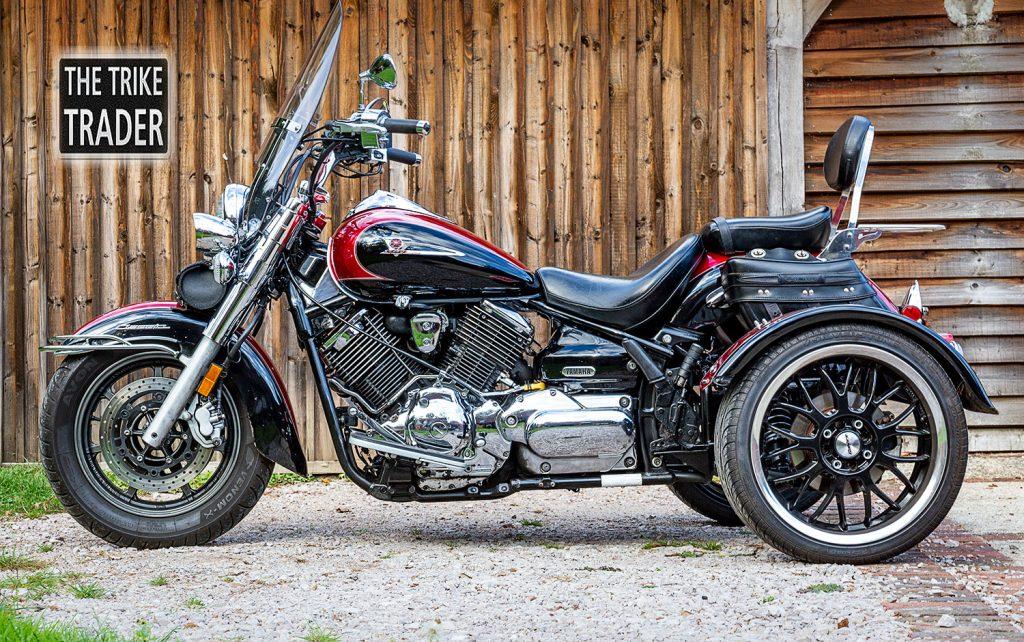 Yamaha XVS 1100CC motorcycle trike 2005