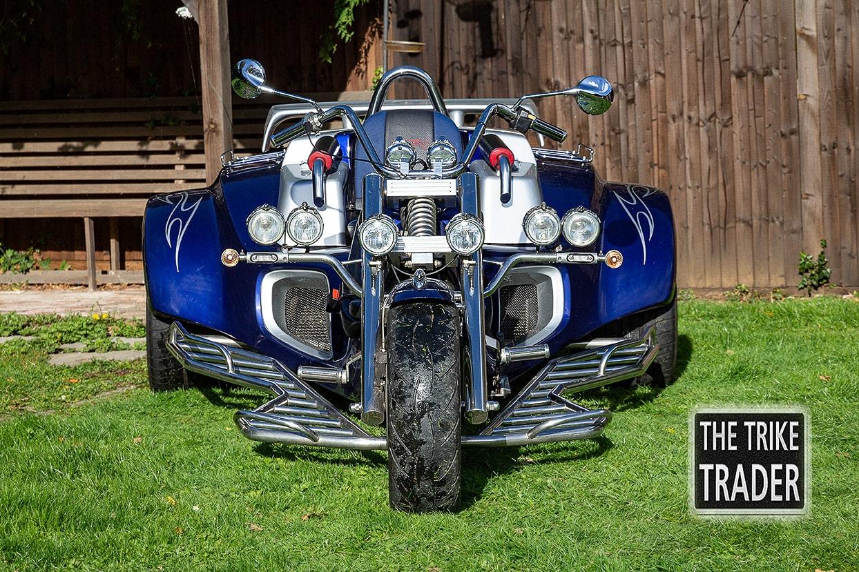 Rewaco Trike RF1-GT 2007 Blue and silver Bi colour