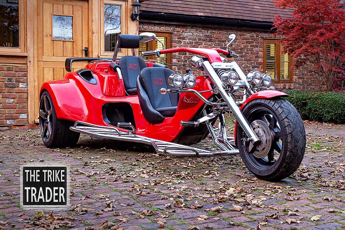Rewaco Trike RF1-GTR R edition Turbo 2011 www. trike-trader.com