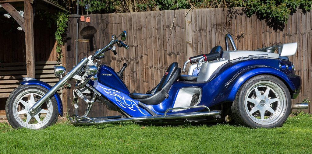 Rewaco Trike RF1-GT 2007 Blue and silver Bi colour