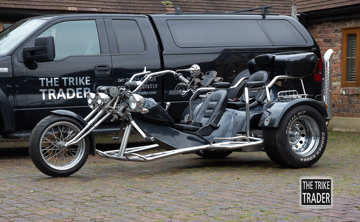 Rewaco trike HS4 2003 in Black