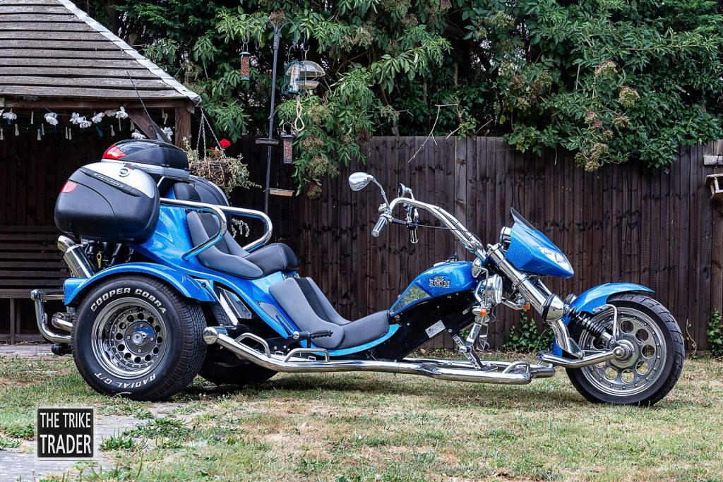 Boom Trike Low Rider Muscle 1.6L Ford Zetec 2006 in blue