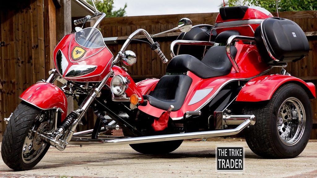 Boom Trike Chopper 2005 Model Ferrari-style