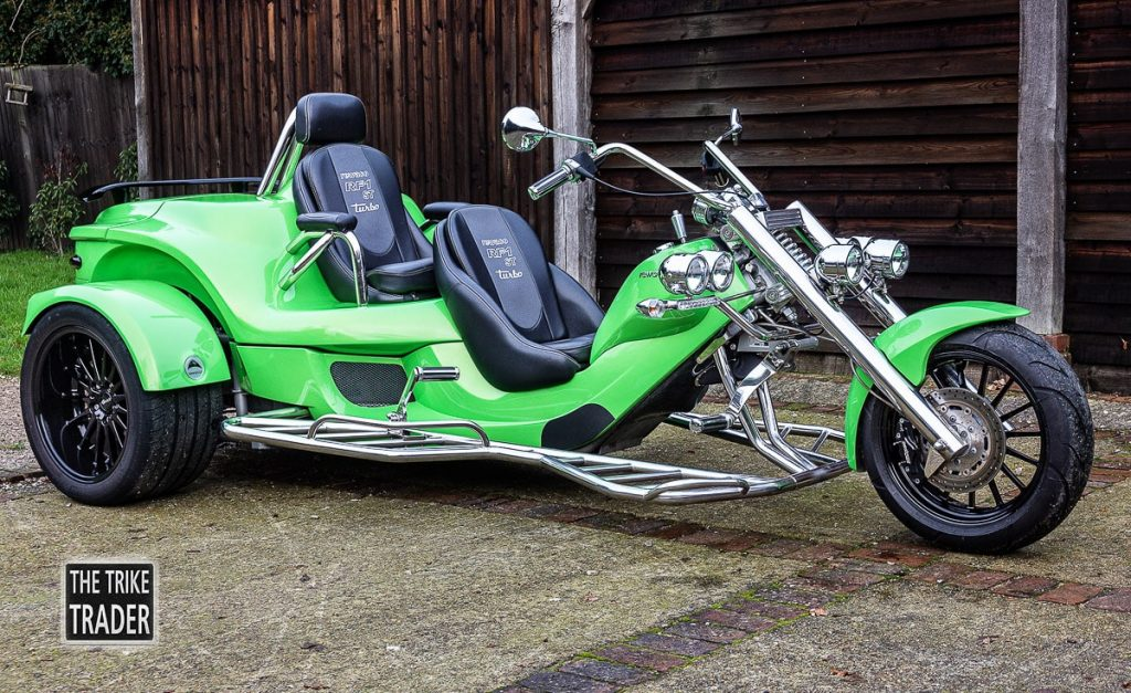 Rewaco Trike RF1-ST2 turbo 2016 automatic