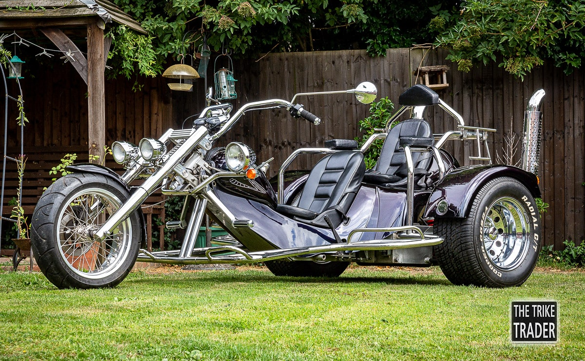 Rewaco Trike HS4 2003 custom paint