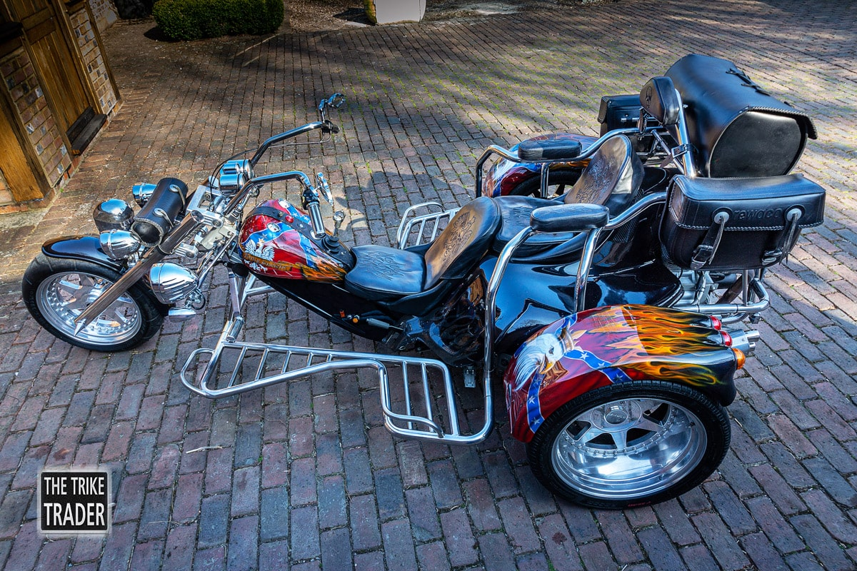 Rewaco trike HS6 Harley Davidson engine